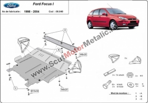 Scut motor metalic Ford Focus 1998-2004
