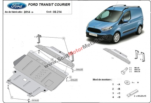 Scut motor metalic Ford Courier